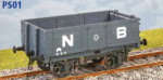 Parkside Models PS01 - LNER (ex NBR) 'Jubilee' Coal Wagon