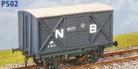 Parkside Models PS02 - LNER (ex NBR) 8 Ton Goods Van
