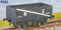 Parkside Models PS03 - RCH 1923 Pattern 7 Plank Mineral Wagon