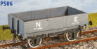 Parkside Models PS06 - LNER (ex NBR) 4 Plank Open Goods Wagon