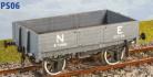 Parkside Models PS06 - LNER (ex NBR) 4 Plank Open Goods Wagon
