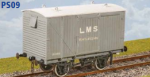 Parkside Models PS09 - LMS Ventilated Van-Corrugated Ends (Diag. D1832A)