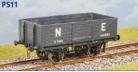 Parkside Models PS11 - LNER 12 Ton 6 Plank Open Wagon