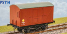 Parkside Models PS114 - LMS 10 Ton Banana Van D1660