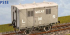 Parkside Models PS18 - LMS Meat Van (Diag. D1670)