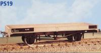 Parkside Models PS19 - LNER (all welded) BR (part welded) Plate Wagon