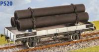 Parkside Models PS20 - LNER/LMS/BR 21 Ton Double Bolster Wagon