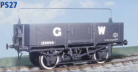 Parkside Models PS27 - GWR 12 Ton Open Goods Wagon 032/33 (1932)