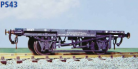 Parkside Models PS43 - GWR Container Wagon (H7)