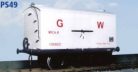 Parkside Models PS49 - GWR Mica Insulated Van (diag. X9)