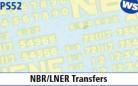 Parkside Models 7mm - NBR/LNER Transfers