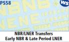 Parkside Models 7mm - NBR/LNER Transfers early NBR & Late Period LNER