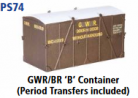 Parkside Models 7mm - GWR/BR 'B' Container (PS74)