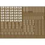 Modelmaster Decals - S.R. Wagon Lettering for Brown wagons 1923-1947